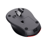 Zaya Rechargeable Wireless Mouse - red-Bottom