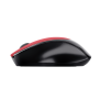 Zaya Rechargeable Wireless Mouse - red-Side