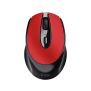 Zaya Rechargeable Wireless Mouse - red-Top
