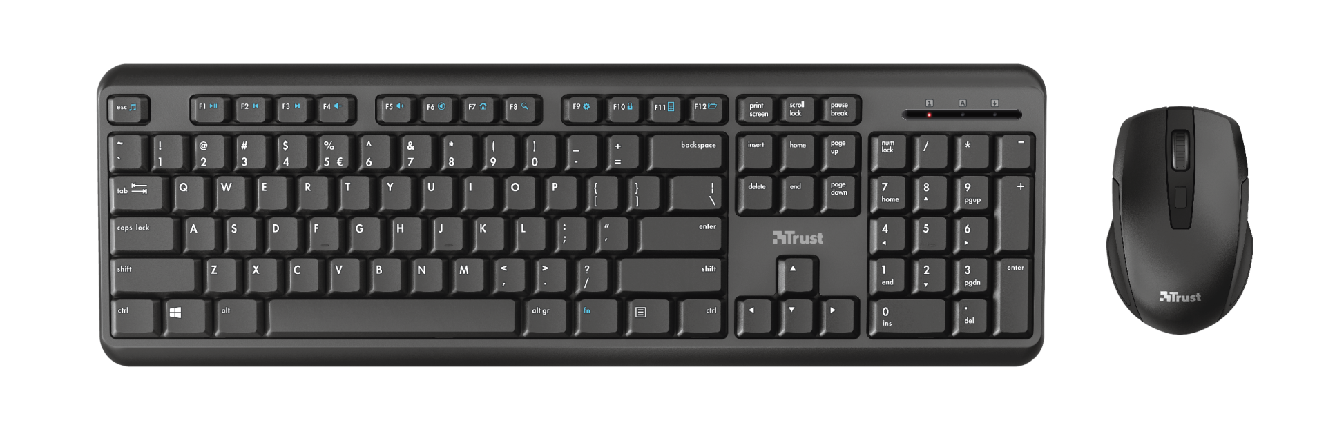 Ymo Wireless Keyboard and Mouse set-Top