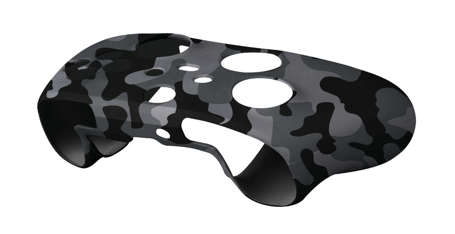 GXT 749K Controller Silicon Skins for Xbox – black camo-Visual