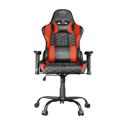 GXT 708R Resto Gaming Chair - red-Front