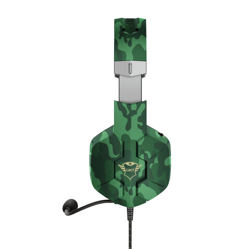 GXT 323C Carus Gaming Headset - jungle camo-Side