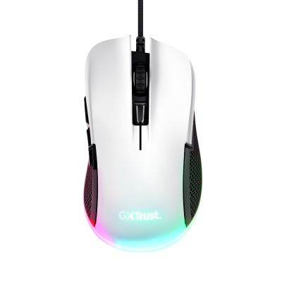 GXT 922W YBAR Gaming Mouse - white-Top