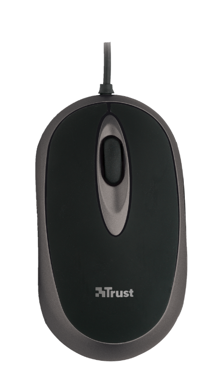 wired mouse - compact size-Top