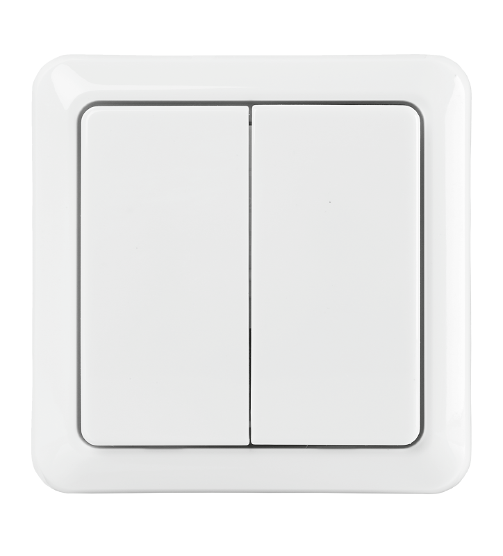 Double Wall Switch AWST-8802-Front