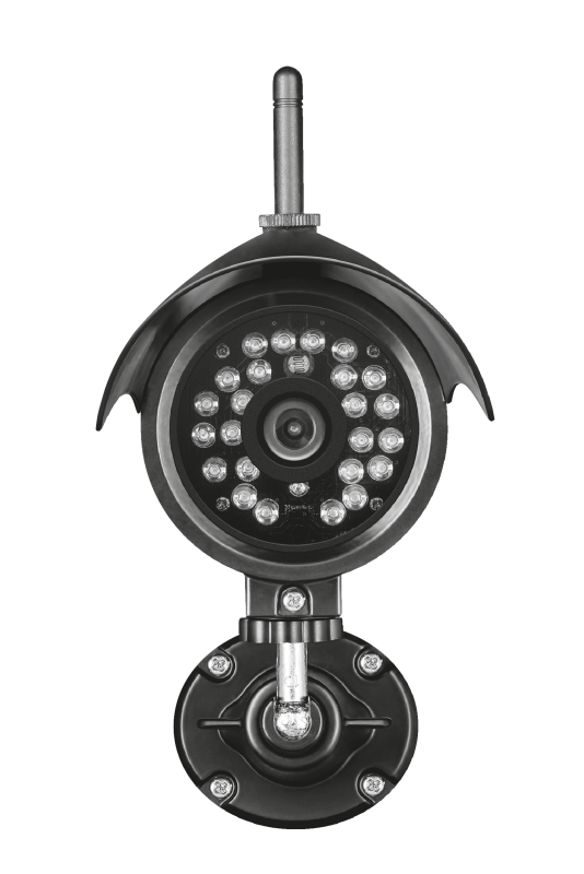 Outdoor WiFi IP camera with night vision IPCAM-3000-Front