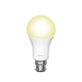 Smart WIFI LED Bulb White Ambience B22 (duo-pack)-Front