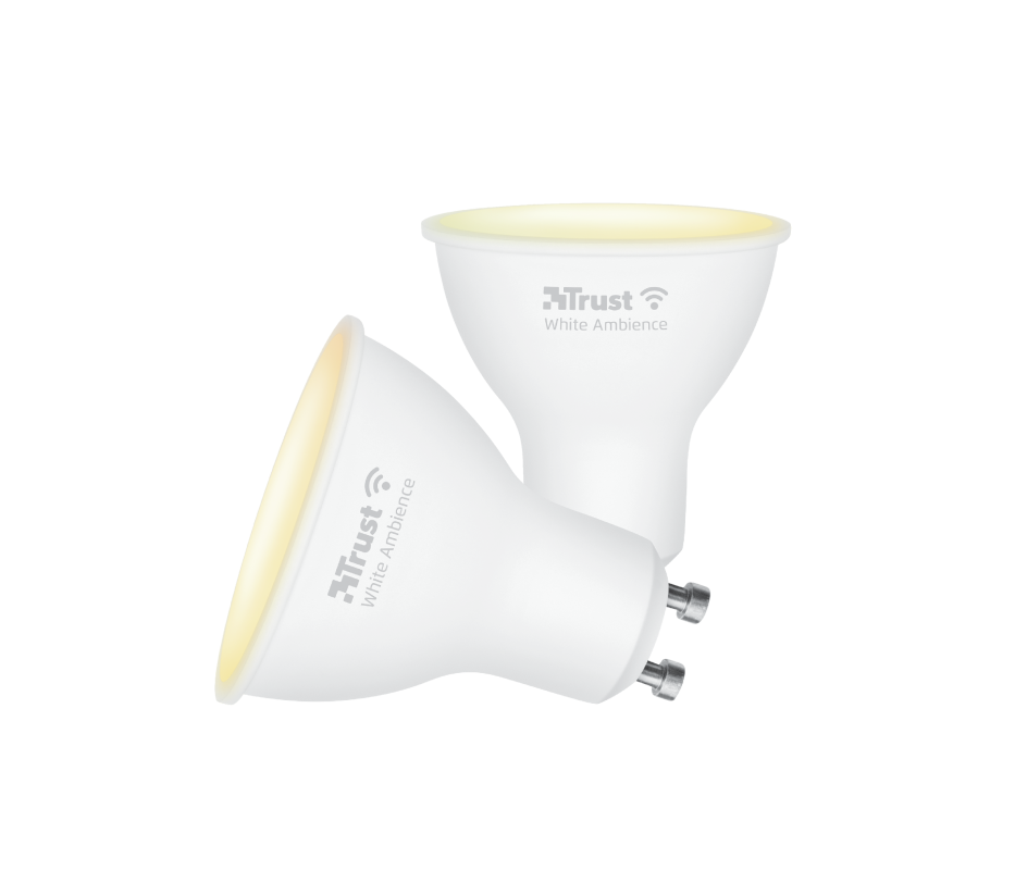 Smart WIFI LED Spot White Ambience GU10 (duo-pack)-Visual